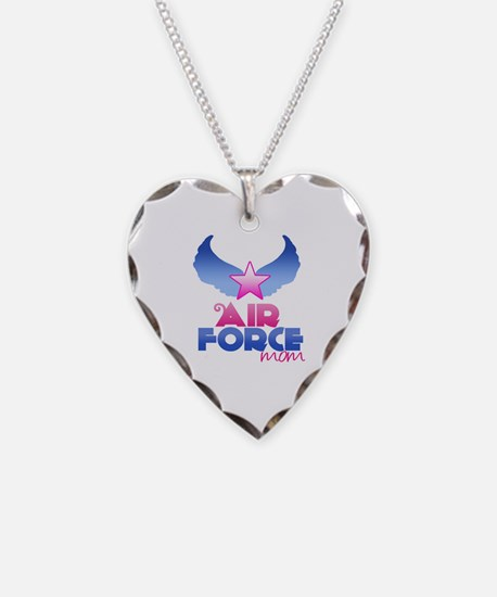 Air Force Mom - Wings - Necklace