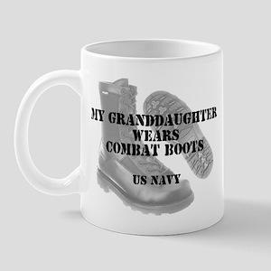 My Granddaughter Navy CB Mug