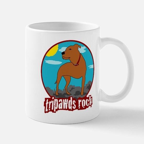 Tripawds Rock (Trouble) Mug