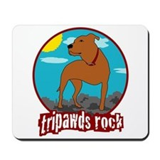 Tripawds Rock (Trouble) Mousepad