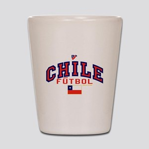 CL Chile Futbol Soccer Shot Glass