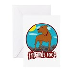 Tripawds Rock (Trouble) Greeting Cards (Pk of 10)