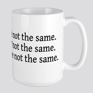 There Their They're Not The S Large Mug