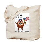 Spotmonkey.Net GO USA Tote Bag