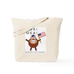 Spotmonkey.Net GO USA Tote Bag
