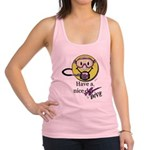 Diving Smiley - pink Tank Top