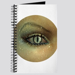 Glam Glitter Cat Evil Eye Journal