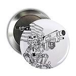 "Robot Monkey 2.25"" Button (10 pack)"