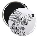 "Robot Monkey 2.25"" Magnet (100 pack)"