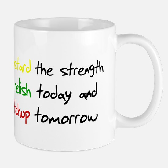 Mustard the strength to relis Mug