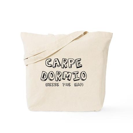 Carpe Dormio Seize The Nap Sh Tote Bag
