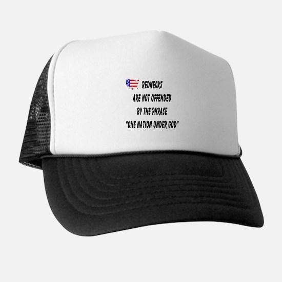 Patriotic Redneck Trucker Hat