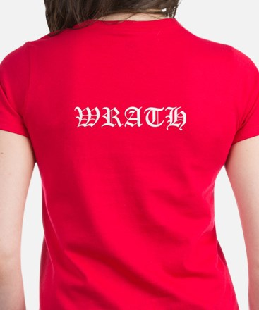 Wrath BDB Dagger Women's Dark T-Shirt