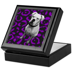 DOG POP ART Keepsake Box