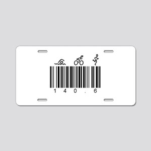 Bar Code 140.6 Aluminum License Plate