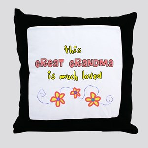 More Grandparents Throw Pillow