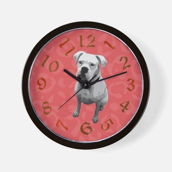 Cute Boxing lover Wall Clock