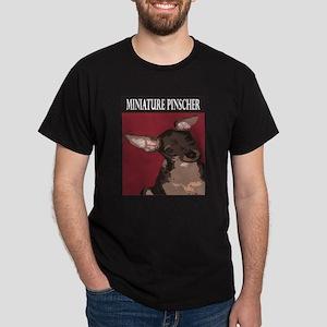 Miniature Pinscher Black T-Shirt