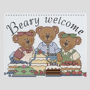 Cute bears Wall Calendar