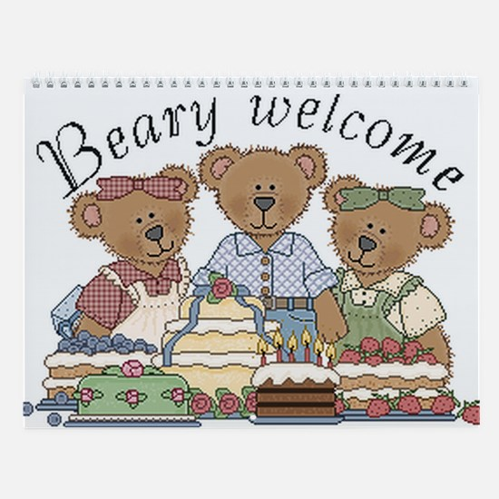 Cute bears Wall Calendar