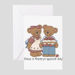 Cute bears Greeting Cards (Pk of 10)