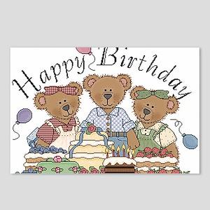 Cute bears Postcards (Package of 8)