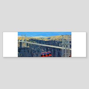 Royal Gorge Bumper Sticker