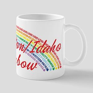 Washington/Idaho Rainbow Girl Mug