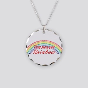 Tennessee Rainbow Girls Necklace Circle Charm