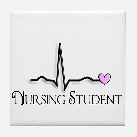 Nursing Student XXX Tile Coaster