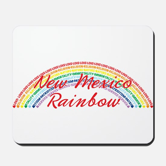 New Mexico Rainbow Girls Mousepad