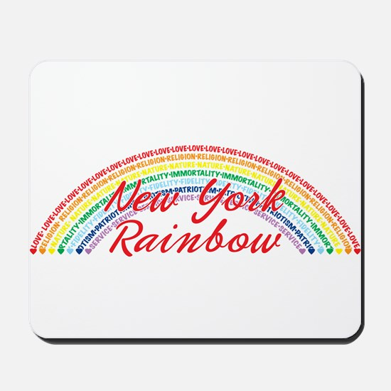 New York Rainbow Girls Mousepad