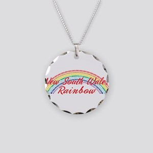 New South Wales Rainbow Girls Necklace Circle Char
