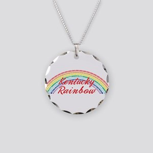Kentucky Rainbow Girls Necklace Circle Charm