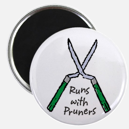Runs with Pruners Magnet