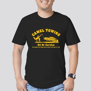 Camel Towing Men's Fitted T-Shirt (dark)