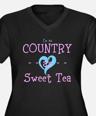I'm as Country as Sweet Tea Plus Size T-Shirt