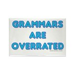 grammars are overrated Rectangle Magnet