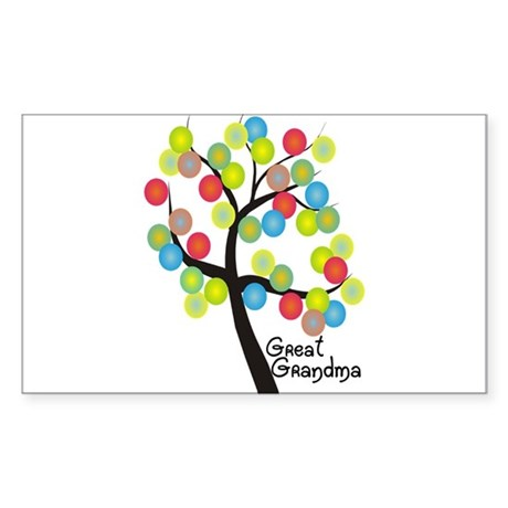 Family Gifts Sticker (Rectangle)
