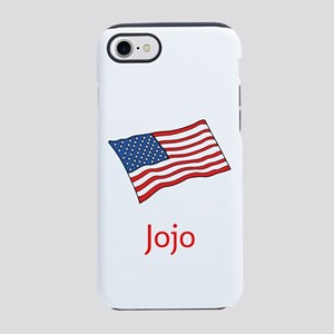 Old Glory Personalized July 4 Terry's Fave iPhone