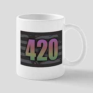 420 - Dark Rainbow Mugs