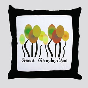 Family Gifts Throw Pillow