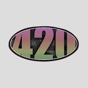 420 - Dark Rainbow Patch