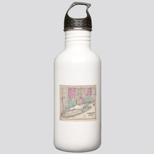 Vintage Map of Connect Stainless Water Bottle 1.0L