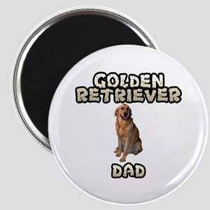 Golden Retriever Dad Magnet