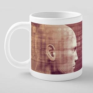 Medical Ethics as  20 oz Ceramic Mega Mug
