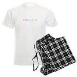 s/hate/love/g rainbow Men's Light Pajamas