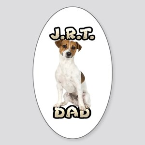 Jack Russell Terrier Dad Sticker (Oval)