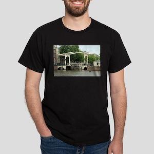 Canal bridge, Amsterdam, Holland T-Shirt