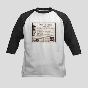 1909 Auto Strop Ad Kids Baseball Jersey